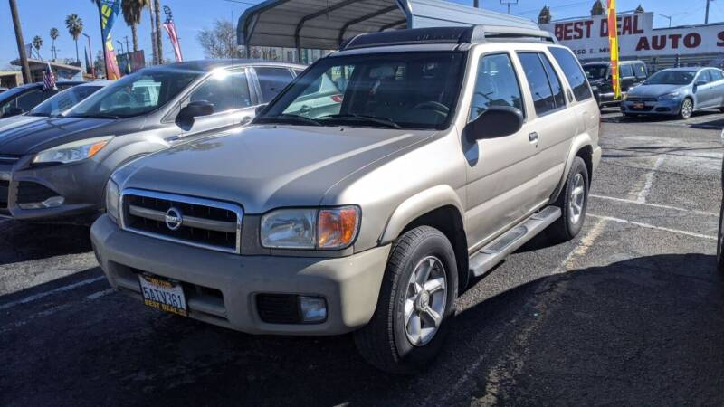 2003 Nissan Pathfinder for sale at Best Deal Auto Sales in Stockton CA