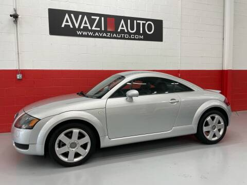 2001 Audi TT for sale at AVAZI AUTO GROUP LLC in Gaithersburg MD