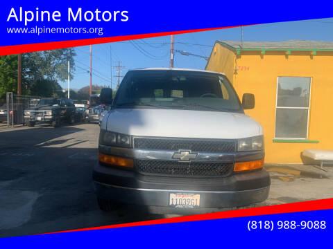 2012 Chevrolet Express Cargo for sale at Alpine Motors in Van Nuys CA