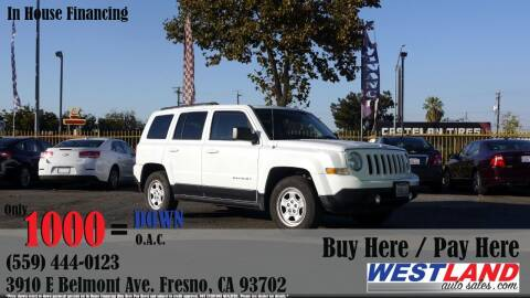 2015 Jeep Patriot for sale at Westland Auto Sales in Fresno CA
