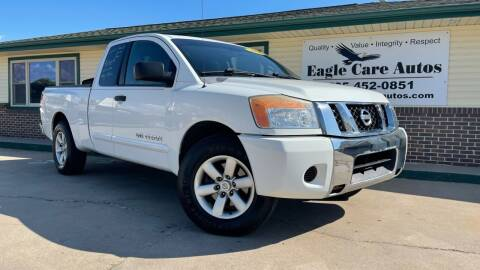 2008 Nissan Titan for sale at Eagle Care Autos in Mcpherson KS