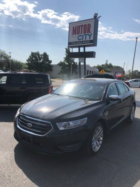 2014 Ford Taurus for sale at Motor City Sales in Wichita KS