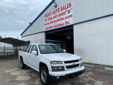2012 Chevrolet Colorado for sale at Ricky Auto Sales in Houston TX