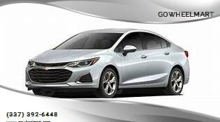 2017 Chevrolet Cruze for sale at GOWHEELMART in Leesville LA