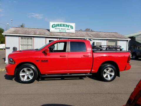 2016 RAM Ram Pickup 1500 for sale at Greens Auto Mart Inc. in Wysox PA