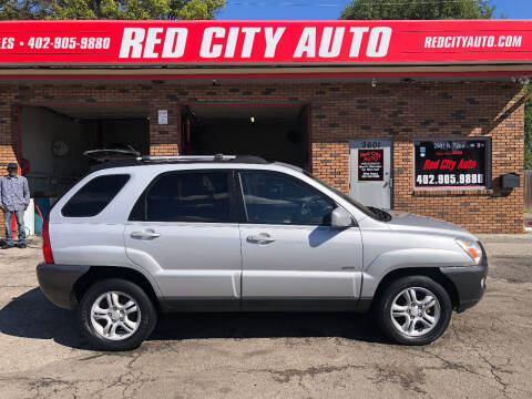 2006 Kia Sportage for sale at Red City  Auto in Omaha NE