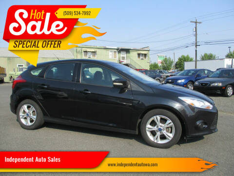 2013 Ford Focus for sale at Independent Auto Sales in Spokane Valley WA