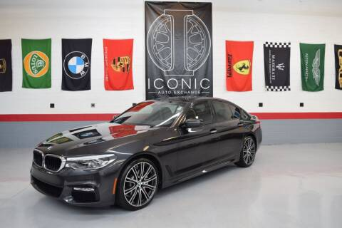 2017 BMW 5 Series for sale at Iconic Auto Exchange in Concord NC