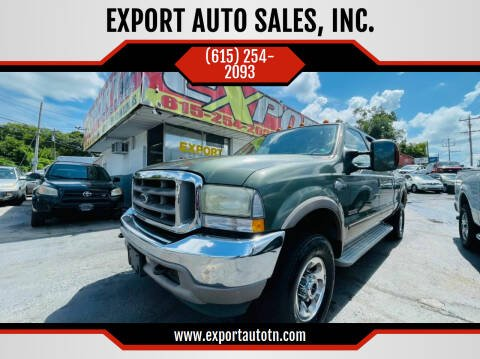 2003 Ford F-250 Super Duty for sale at EXPORT AUTO SALES, INC. in Nashville TN