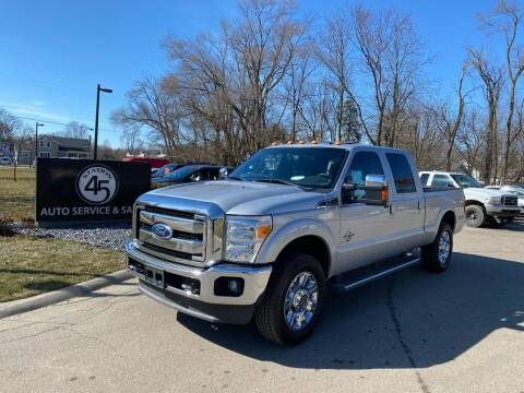 2012 Ford F-250 Super Duty for sale at Station 45 Auto Sales Inc in Allendale MI