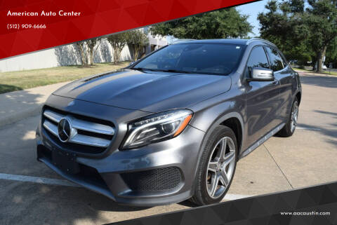 2015 Mercedes-Benz GLA for sale at American Auto Center in Austin TX
