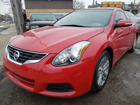 2011 Nissan Altima for sale at WEST END AUTO INC in Chicago IL