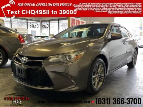 2016 Toyota Camry for sale at CERTIFIED HEADQUARTERS in St James NY