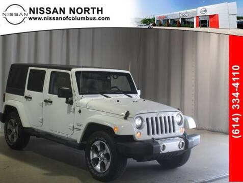 2017 Jeep Wrangler Unlimited for sale at Auto Center of Columbus in Columbus OH