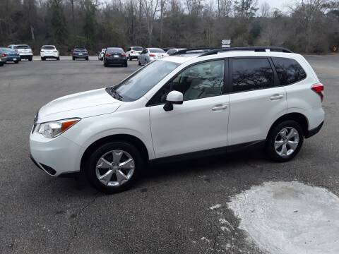 2016 Subaru Forester for sale at WALKER MOTORS LLC in Hattiesburg MS