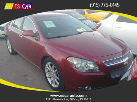2011 Chevrolet Malibu for sale at Escar Auto in El Paso TX