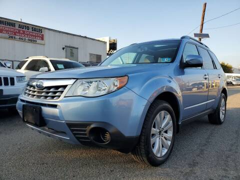 2012 Subaru Forester for sale at MENNE AUTO SALES LLC in Hasbrouck Heights NJ