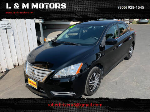 2013 Nissan Sentra for sale at L & M MOTORS in Santa Maria CA