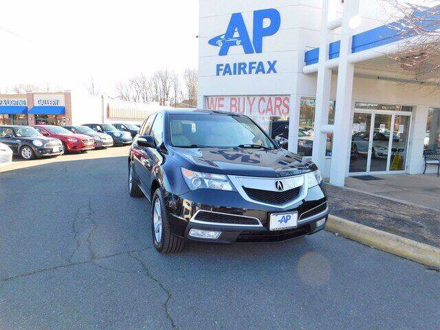 2013 Acura MDX for sale at AP Fairfax in Fairfax VA