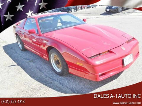 1987 Pontiac Firebird for sale at Dales A-1 Auto Inc in Jamestown ND