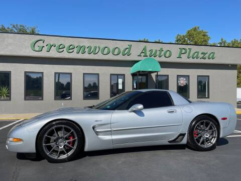 2002 Chevrolet Corvette for sale at Greenwood Auto Plaza in Greenwood MO