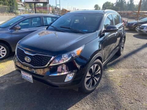 2012 Kia Sportage for sale at SNS AUTO SALES in Seattle WA