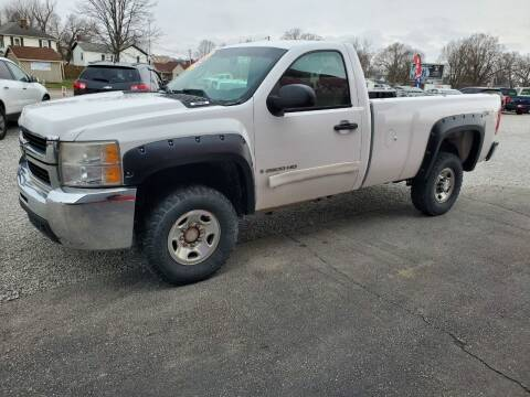 2008 Chevrolet Silverado 2500HD for sale at MIKE'S CYCLE & AUTO in Connersville IN
