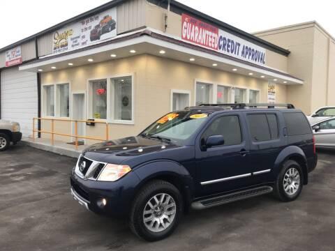 2011 Nissan Pathfinder for sale at Suarez Auto Sales in Port Huron MI