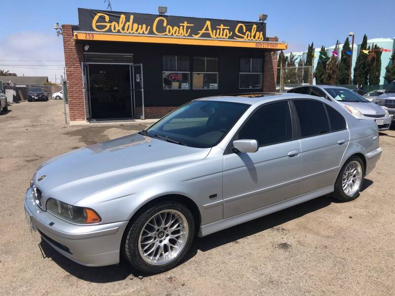 2001 BMW 5 Series for sale at Golden Coast Auto Sales in Guadalupe CA
