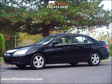 2004 Honda Accord for sale at M2 Auto Group Llc. EAST BRUNSWICK in East Brunswick NJ