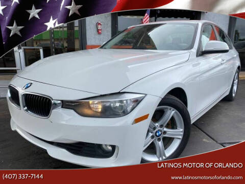 2014 BMW 3 Series for sale at LATINOS MOTOR OF ORLANDO in Orlando FL
