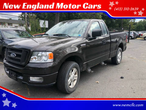 2005 Ford F-150 for sale at New England Motor Cars in Springfield MA