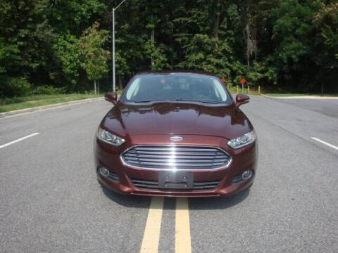 2015 Ford Fusion for sale at Source Auto Group in Lanham MD