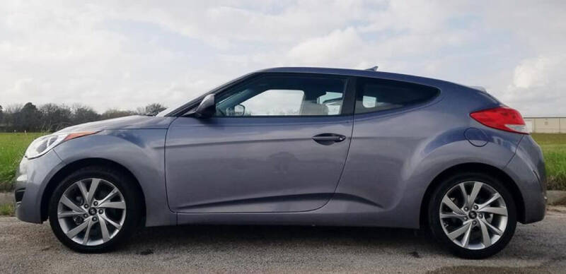 2016 Hyundai Veloster for sale at Palmer Auto Sales in Rosenberg TX