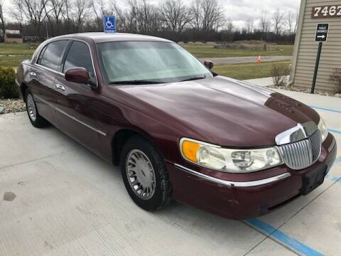 2002 Lincoln Town Car for sale at The Auto Depot in Mount Morris MI