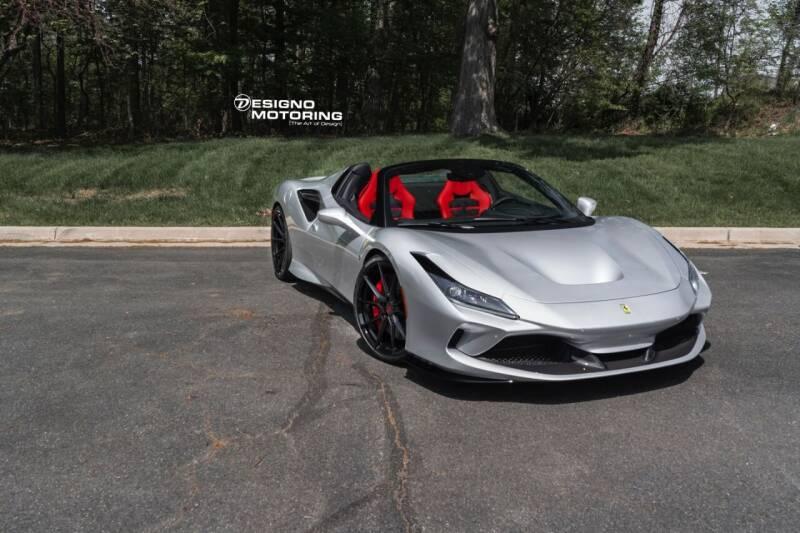 2021 Ferrari F8 Spider for sale at POTOMAC WEST MOTORS in Springfield VA