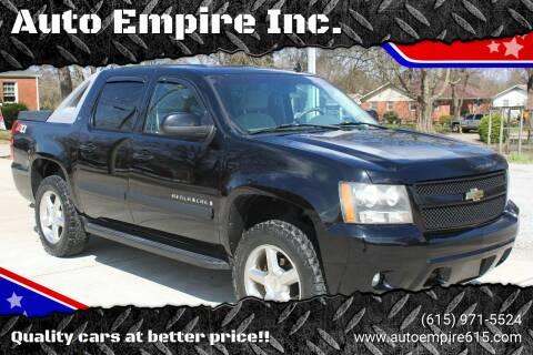 2007 Chevrolet Avalanche for sale at Auto Empire Inc. in Murfreesboro TN