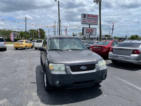2006 Ford Escape for sale at King Auto Deals in Longwood FL