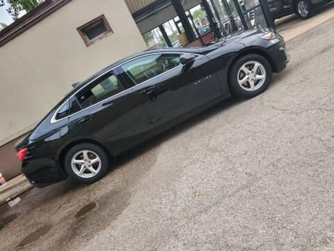 2018 Chevrolet Malibu for sale at ECONOMY AUTO MART in Chicago IL