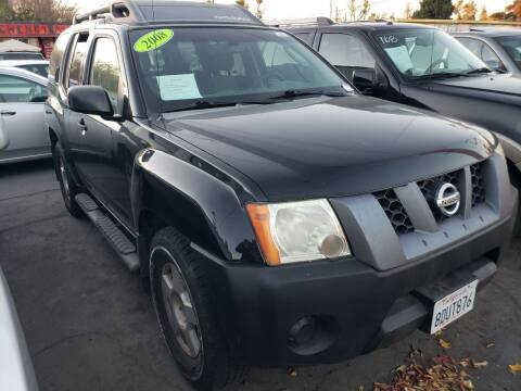 2008 Nissan Xterra for sale at MCHENRY AUTO SALES in Modesto CA