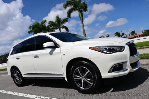 2017 Infiniti QX60 for sale at MOTORCARS in West Palm Beach FL