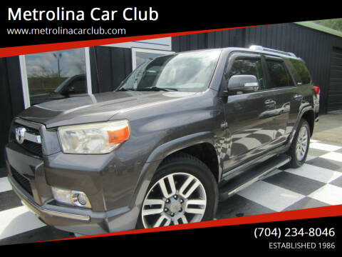 2011 Toyota 4Runner for sale at Metrolina Car Club in Matthews NC