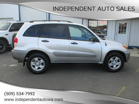 2002 Toyota RAV4 for sale at Independent Auto Sales in Spokane Valley WA
