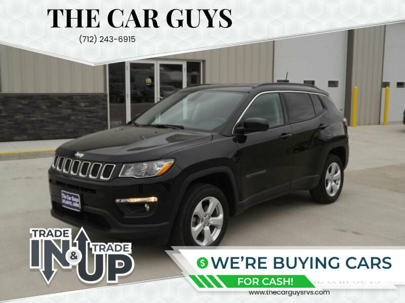 2018 Jeep Compass for sale at The Car Guys RV & Auto in Atlantic IA