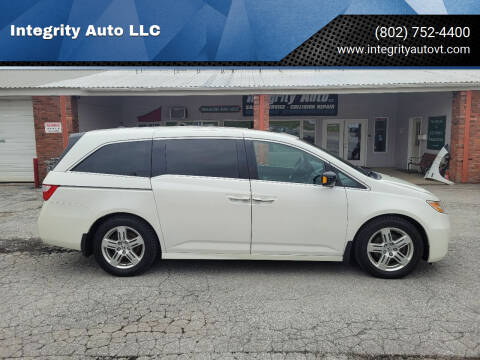 2012 Honda Odyssey for sale at Integrity Auto LLC - Integrity Auto 2.0 in St. Albans VT
