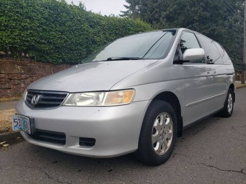 2002 Honda Odyssey for sale at KC Cars Inc. in Portland OR