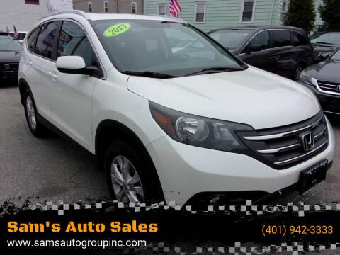 2013 Honda CR-V for sale at Sam's Auto Sales in Cranston RI