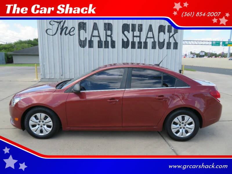 2012 Chevrolet Cruze for sale at The Car Shack in Corpus Christi TX