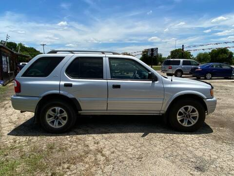 2001 Isuzu Rodeo for sale at Collins Auto Sales in Waco TX