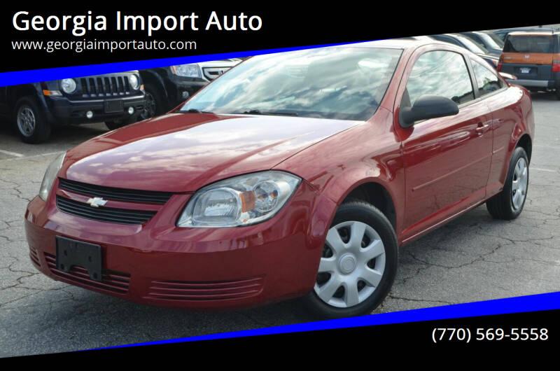 2010 Chevrolet Cobalt for sale at Georgia Import Auto in Alpharetta GA